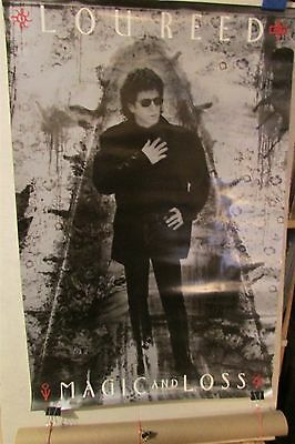 "LOU REED Magic And Loss (The Velvet Underground) 23x35"" PROMO POSTER [RO68]"