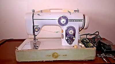 Janome; New Home Model 672  1960s Sewing Machine