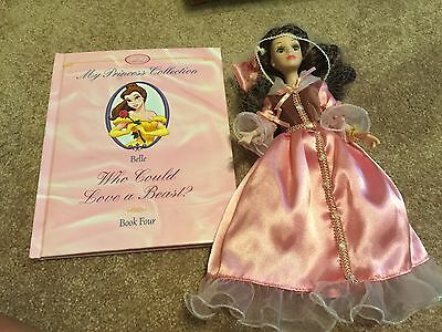 Disney Belle Porcelian doll. My Princess Collection Book Belle.