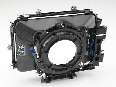 Tilta MB-T03 4*4 Carbon Fiber Matte box for 15mm rail support rig DSLR HDV Rig