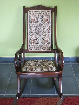 Antique Rocking chair - timber
