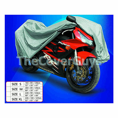 Motorcycle Heavy Duty Cover Large - By AquaGuard