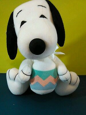 Snoopy Easter Egg Plush 50Th Anniversary Edition