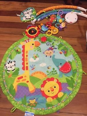 Fisher Price Rainforest Friends Musical Gym Playmat