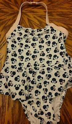 Girls Disney Minnie Mouse Swimsuit Old Navy Size 3T EUC