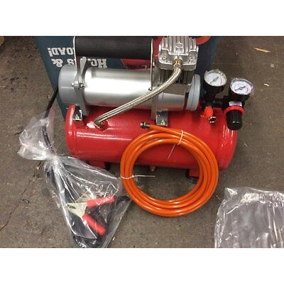 Compressor and 2 Gallon Tank Combo for Air Horns Pickup Truck 150psi NR Closeout
