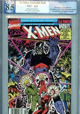 X-Men Annual #14, 8.5 VF+, PGX Graded, Marvel Comics
