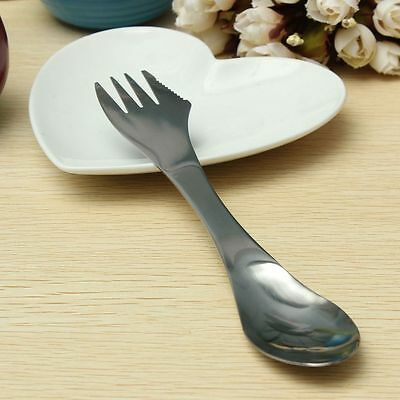Spork Knife/Fork/Spoon Combo Picnic Cutlery Outdoor Spork Camping Tableware