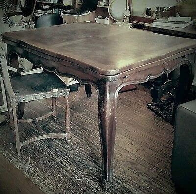 Antique French Oak Extension Table Dining Farmhouse Paris