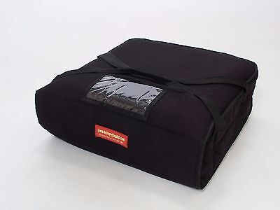 "Pizza Delivery Bags (Holds up to Two 16"" or Two 18"" Pizzas) Black"