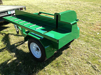 New towable/portable saw bench 21hp v-twin firewood electric start NEW MODEL