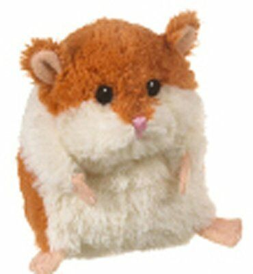 Brown White Soft Polyester Plush Lil Hamster Cute Stuffed Toy Perfect Great Gift