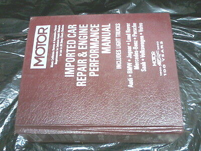 2001-03 European Motor Car Repair & Engine Performance Manual