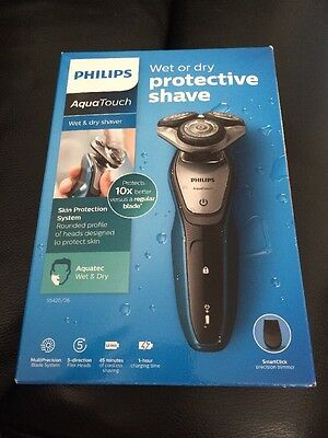 Philips S5420/06 Aquatouch Wet And Dry Electric Shaver
