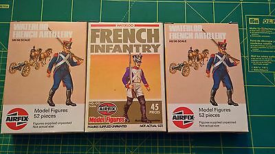 AIRFIX - Lotto 1 72 Waterloo French Infantry and artillery