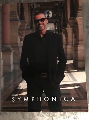 george michael Symphonica Programme From Tour