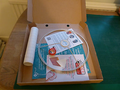 30cm Lampshade Making Kit - Drum Ceiling Pendant or Table Lampshade