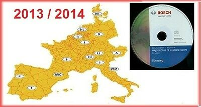 Europa Europe DX 2013/2014 Navi Navigation CD VW Volkswagen Golf Passat T5 MFD