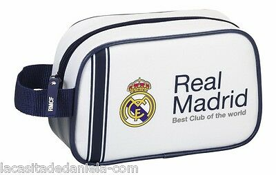 REAL MADRID Neceser bolsa de aseo 22 cm // Carrying case with zip