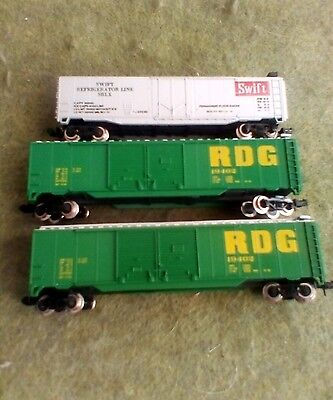 N Scale Freight Wagons X3