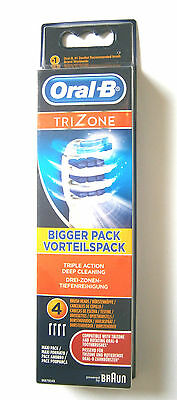 Oral B Tri-Zone Toothbrush Heads - Various Quantities Use Drop Down Menu