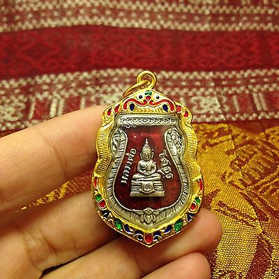 High Quality Lp So Thorn Thai Buddha Amulet Luck Rich Wealth Success Protect