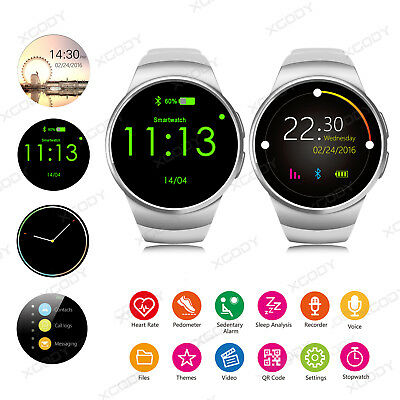 Waterproof Bluetooth Smart Watch Phone Mate SIM TF For Android Samsung iPhone