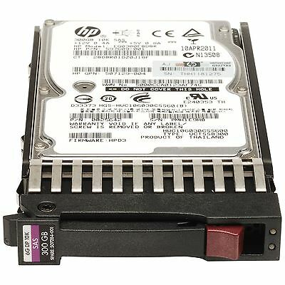 "HP 300GB 6G 10K 2.5"" DP SAS Hard Drive (507284-001)"