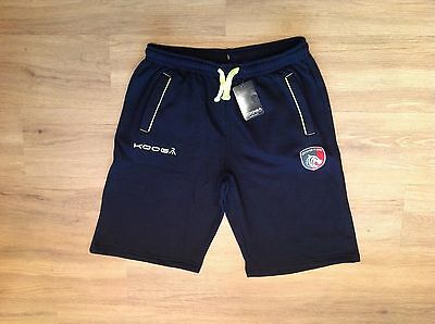 Leicester Tigers Fleece Training Shorts