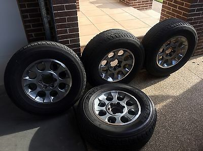 Toyota FJ Cruiser Wheels and Tyres (Also Fits Hilux)