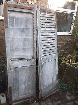 French Vintage Window Shutters