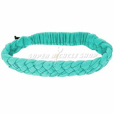 NIKE Dri-Fit Braided Headband Size: 44 x 2.5cm , Green