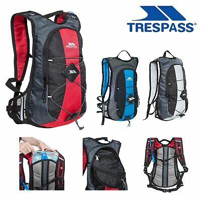 Trespass Mirror 15 Litre Hydration Backpack Rucksack 2 Litre Water Reservoir