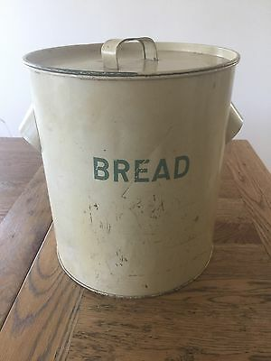 Antique Large Bread Tin Made In England Worcester Ware