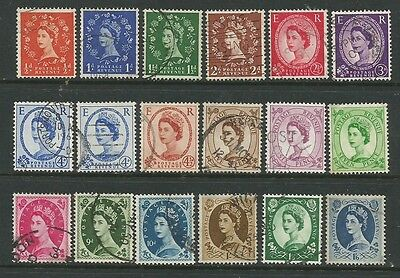 Wilding stamps 179 multiple crown used.