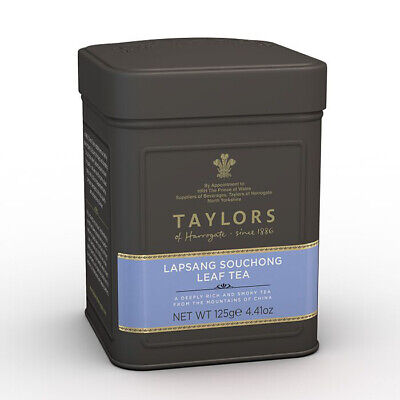 Taylors of Harrogate Lapsang Souchong Leaf Tea 125g in Caddy