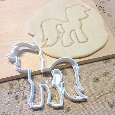 My Little Pony Cookie Cutter - Fondant Icing Cake Cupcake Topper MLP Birthday