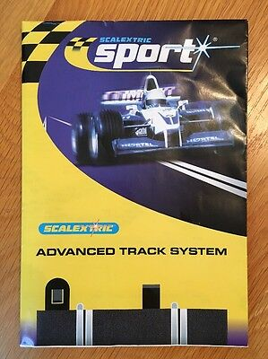 Scalextric Sport Advanced Track System Manual, Great Condition