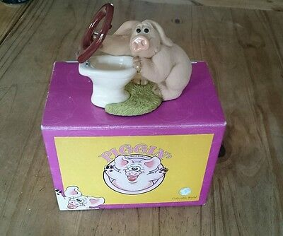 "BNIB ""Piggin Hungover"" Collectable figurine"
