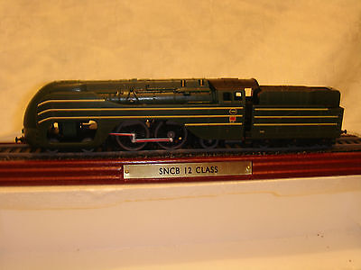 S N C B 12 CLASS ATLAS EDITIONS LOCOMOTIVES  Scale 1-100