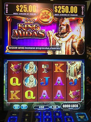 WMS BB2 King Midas Dongle Game Software.