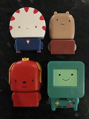 Set of 4 McDonalds Adventure Time Toys