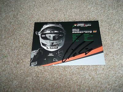 Nico Hulkenberg (Sahara Force India) Hand Signed Photo Card
