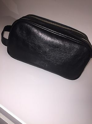 Mulberry Leather Wash Vanity Bag