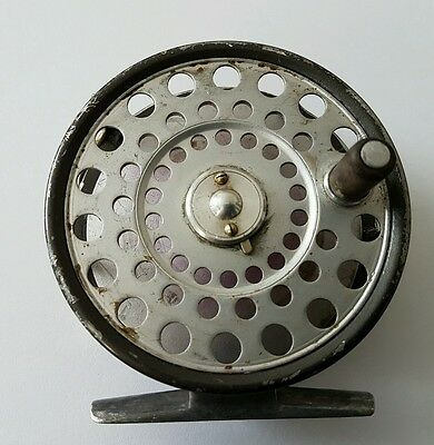 Rare Vintage 4 Pillar Hardy Lrh Trout Fly Reel