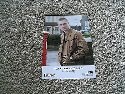 Danny-Boy Hatchard(Eastenders)Dedicated Hand Signed Cast Card