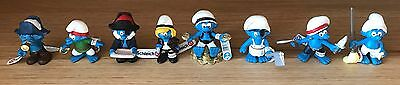 Pirate Complete 8 x Smurf Smurfs Set 2013 New