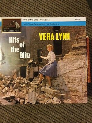 Vera Lynn. Hits Of The Blitz. Vinyl Album 1962