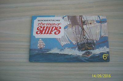 Brooke Bond Tea Cards - The Saga Of Ships - Complete 1970 Album - VGC