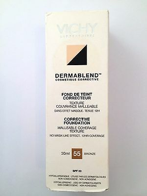 Vichy Dermablend Fluid Corrective Foundation 12HR SPF 11 - Shade: Bronze 55